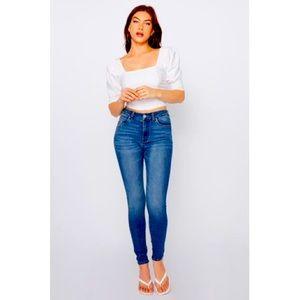 Urban Planet High Rise Super Skinny Jeans Sz5